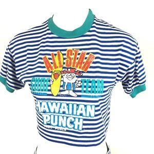 Vintage Rare Hawaiian Punch Surf Team Crop Top